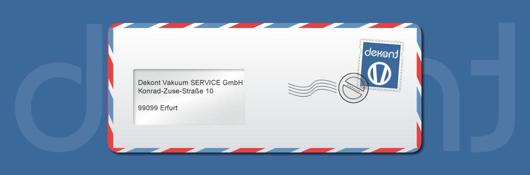 Kontakt - Dekont Vakuum Service Erfurt