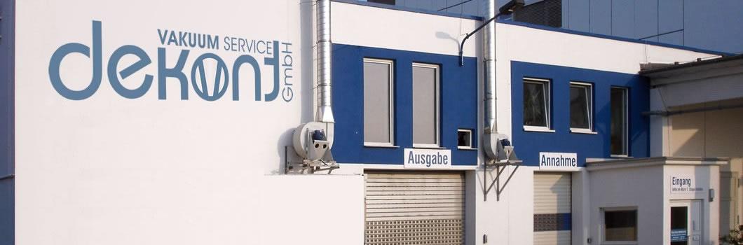 Sitz der Firma Dekont Vakuum Service Erfurt - Das Unternehmen