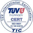Zertifiziert nach: DIN EN ISO 9001:2008