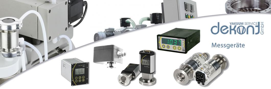 Dekont Vakuum Service - Messgeräte - Rabatt auf Vakuummessgeräte