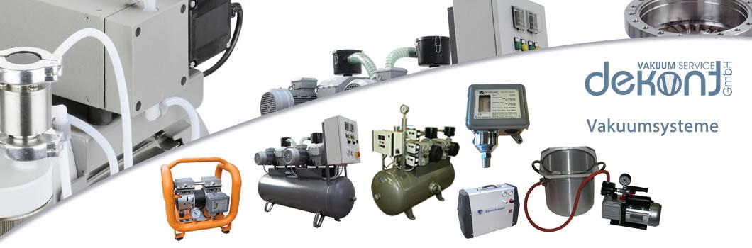 Dekont Vakuum Service - Vakuumpumpen und Vakuumsysteme