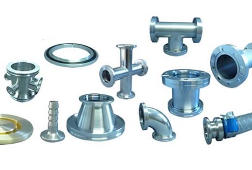 Dekont Vakuum Service - Bauteile und Verbindungselemente