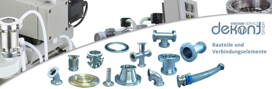 Dekont Vakuum Service - Vakuumbauteile und Verbindungselemente