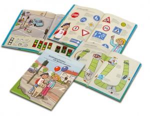 Verkehrsbuch Straßengeschichten mit Moritz und Luise